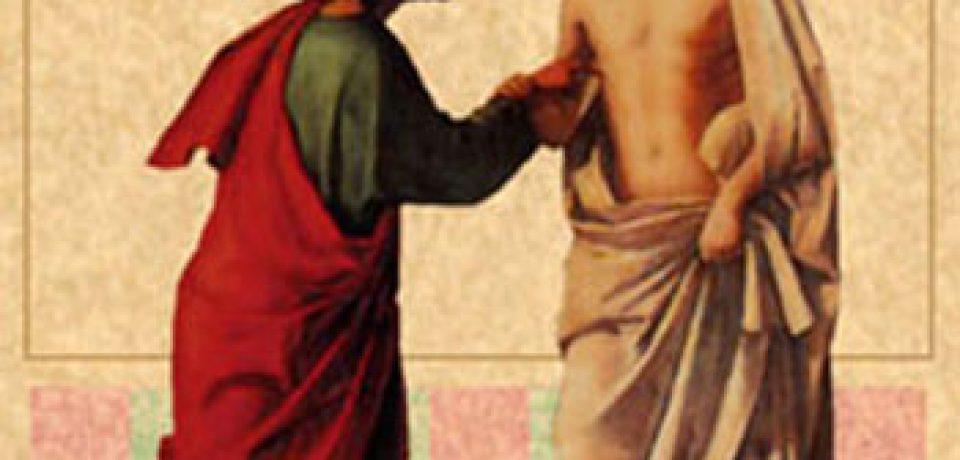 El domingo de la Divina Misericordia 2º Pascua ciclo B