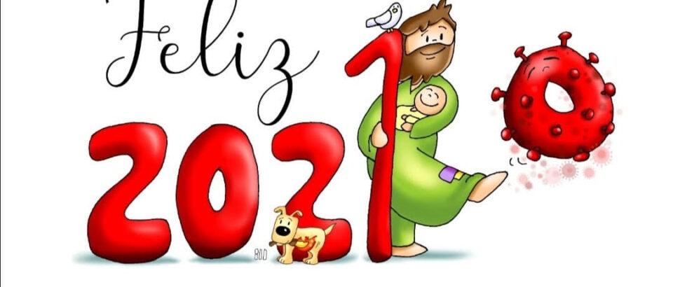 ¡¡ FELIZ AÑO 2021 con San José, un año lleno de Dios !!